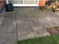 Concrete slabs for sale.