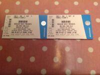 Belinda Carlisle Tickets x 2 Glasgow Concert Hall Monday 9th Oct 17