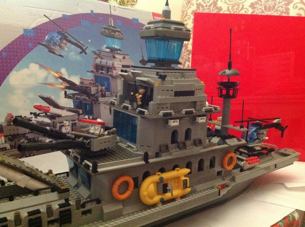 Blox Military Battleship