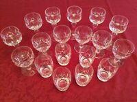 Stuart 'Glengary' Crystal glasses