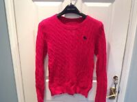 Abercrombie and Fitch womans jumper