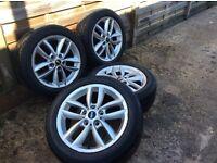 "18"" Mini Countryman alloys and wheels"