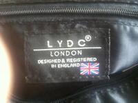 black designer bag