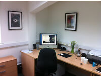 Office Space in modern comfortable environment, £160pcm all inclusive, easy in, easy out agreement