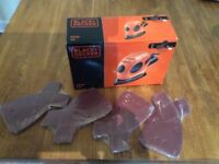Brand new Black and Decker 55w Sander with additional sheets £20