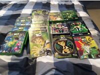 Bundle of Ben 10 dvds
