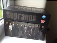 Whole collection in special presentation box The Sopranos