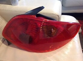 A Set of Rear Tail Light for Peugeot 206 new