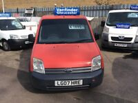FORD transit connect 1.8 diesel 2007 model reduced to only£1695 no vat.