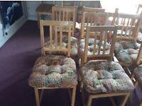 Pine Ikea chairs
