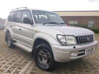 2002 TOYOTA LAND-CRUISER 3.0 DIESEL AUTOMATIC, 8 SEATER, FULL SERVICE HISTORY.