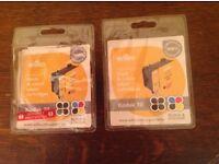 Wilko remanufactured black & colour inkjet cartridges