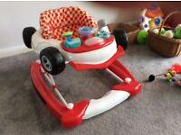 Baby walker - car