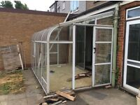 FREE small conservatory. Only requires dismantling&transport