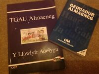 Welsh/German Cymraeg/Almaeneg dictionary and revision book