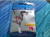 Brand New Never Used Ancol Blue Padded Harness for Medium Dog