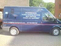 Welding services mobile mot repairs
