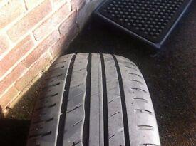 Vauxhall astra Sport 4 Alloy wheels