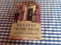 RECIPES FROM NO.10 by GEORGINA LANDEMARE