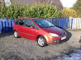 2007 FORD C-MAX ZETEC MPV FULL SPEC//ONE YEAR MOT//ONE PREVIOUS OWNER//SERVICE BOOK