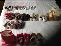 Used baby shoes