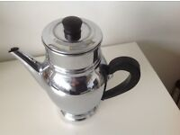 Chrome Coffee pot as image below