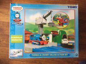 Thomas & Cranky Deluxe action set