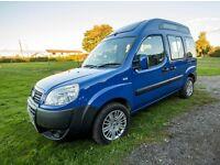 Fiat doblo camper 1.3 diesel with very low mileage