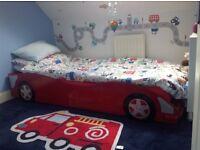FANTASTIC KIDS RACING CAR SINGLE BED