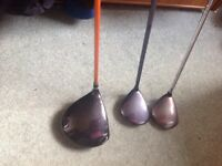 Callaway fairway woods and Nicklaus dualpoint driver