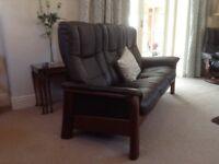 Ekornes Stressless Windsor 3 seater reclining sofa
