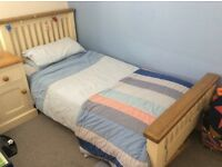 Single Bed Oak Claremont