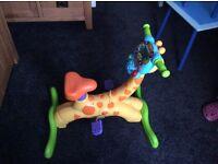 Bounce X ride giraffe