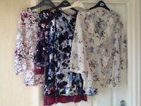 Ladies M&S, Next and other, size 12 tops, dresses, and knitwear