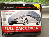 "FULL CAR COVER, LARGE 190""x70""x47"", BRAND NEW, WATERPROOF, SILVER, UNOPENED"