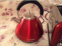 Morphy Richards Accents Kettle - Red