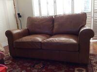 Superior Quality HALO 'Hudson' style 2-seater leather sofa