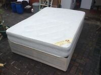 CLEAN DOUBLE BED WITH STORAGE