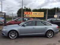 Audi A6 Le Mans special edition 2.0 tdi diesel 2010 oneowner 53000 fsh ful year mot serviced maypx