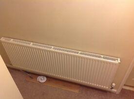 White 1600x600 radiator