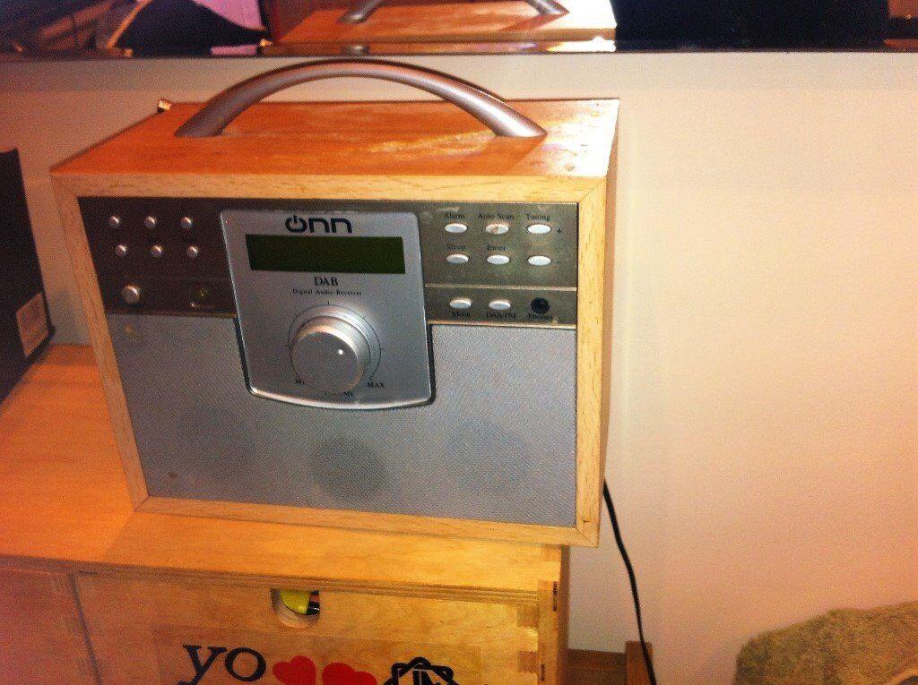 OHN DAB radio.