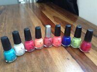 9 China glaze nail polish