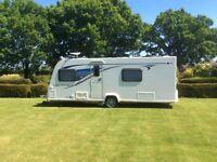 Immaculate Bailey Pegasus Rimini 4 berth Alutech touring Caravan 2014