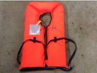 Plastimo adult life jackets x 6