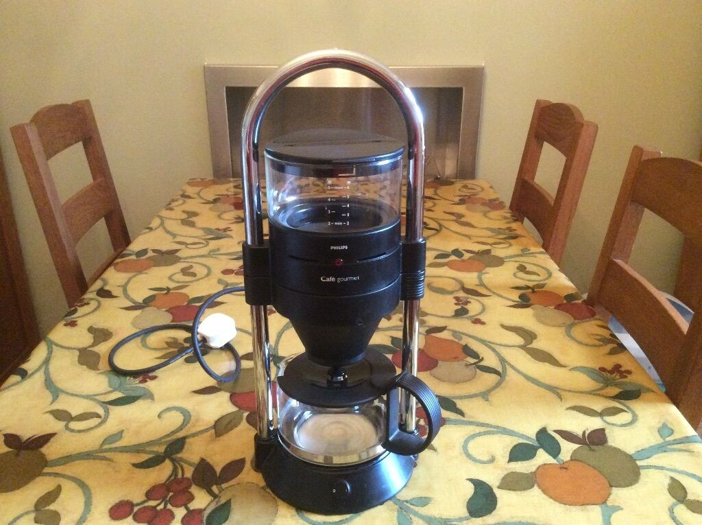 philips cafe gourmet coffee maker hd5560 a in excellent. Black Bedroom Furniture Sets. Home Design Ideas