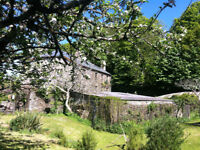 Three miles Totnes. Wing of old mill house.