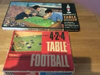 1970's Table Football Games