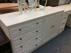 Row of fitted Bedroom cabinets / free Glasgow delivery