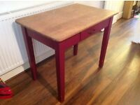 Vintage wooden top Artist's table for sale