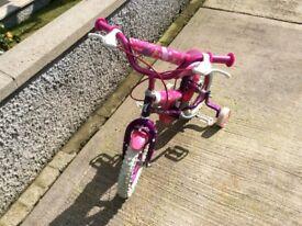 Pink 14 inch bike
